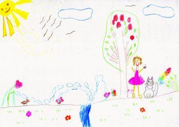Крохолева Елизавета, 5 лет