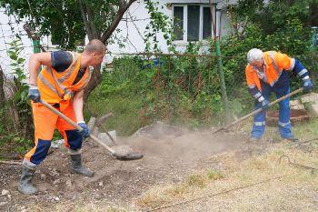 Восстановление канализационной сети в с. Измайловка